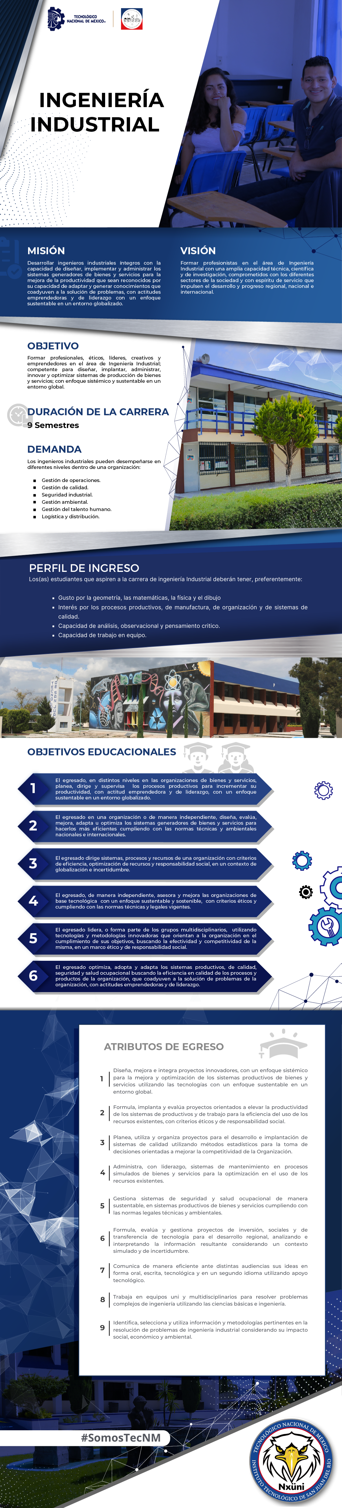Oferta Educativa Carrera Ing Industrial
